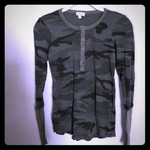 Splendid Olive Camouflage long sleeved thermal